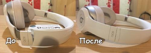 Ремонт наушников в Киеве: до и после